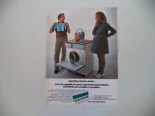advertising Pubblicità 1970 LAVATRICE NAONIS E5