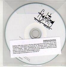 (AK814) Fighting With Wire, Sugar - DJ CD
