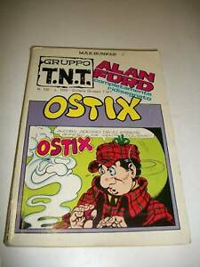 ALAN-FORD-GRUPPO-T-N-T-130-TNT-MAX-BUNKER-PRESS-OSTIX-1984-INEDITO-RIDISEGNATO