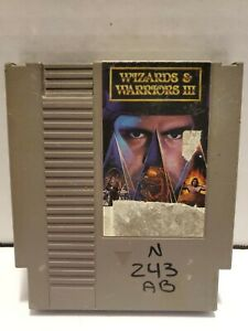 Wizards-amp-Warriors-III-3-Nintendo-Entertainment-System-NES-Cart-Only-with-Sleeve
