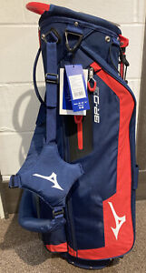 Mizuno Golf BR-DC Stand Bag Navy/Red (BNWT)