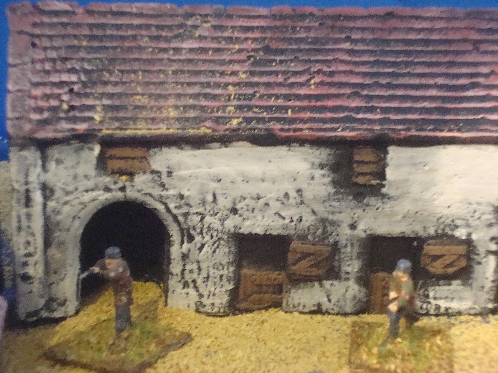 U6 Haye Sainte Farm, wargames scenery scenery scenery and terrain bâtiments. pour 10 mm, 15 mm 41f156