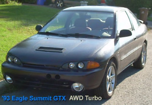 1993 Eagle Summit GTX AWD Turbo Coupe