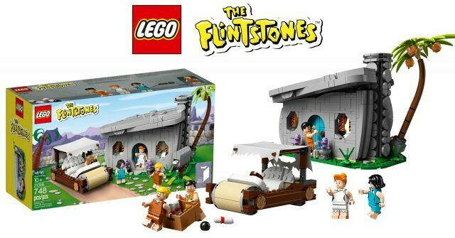 Lego Ideas 21316 The Flintstones Home Barney Rubble & Betty Betty Betty Rubble New Exclusive e5d7f0