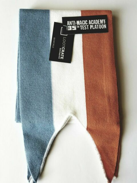 Loot Anime Exclusive Anti-Magic Academy The 35th Test Platoon Scarf NEW