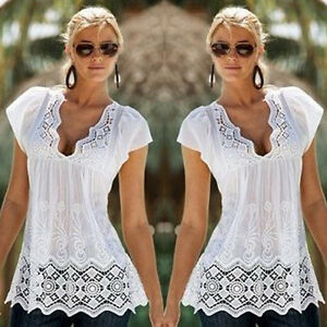 Women-Summer-Lace-Vest-Top-Sleeveless-Casual-Tank-Blouse-Tops-T-Shirt