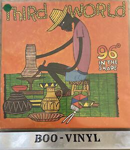 Third World 96 In The Shade Island LP Reggae Vinyl EX + / VG+