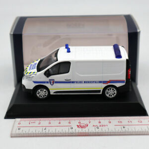 NOREV-1-43-RENAULT-Trafic-of-2014-Police-Municipale-White-Window-Diecast-Models