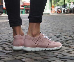 Slowwalk-Schuhe-Morvi-Nubuck-pink-Echtleder-Sommerschuhe-Damenschuh-Slip-On-NEU