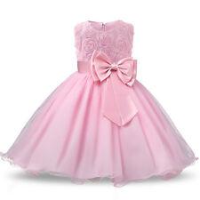 Kinder Kleid Partykleid Sommerkleid Tüllkleid für jedes Anlass  Gr.134/140 /c26/