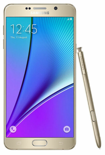 Samsung Galaxy Note 5 SM-N920T 32GB Platinum Gold - T-Mobile