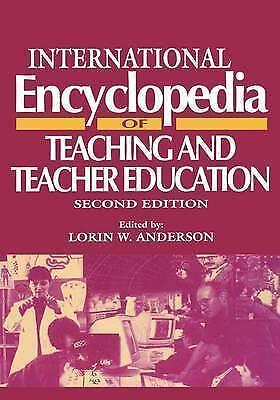 International Encyclopedia of Teaching and Teacher Education, Second Edition (R