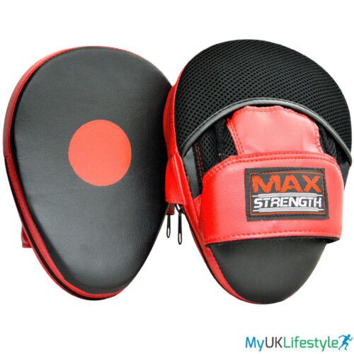 SACCO Boxe Guanti e curvi FOCUS PAD Set Training Guantoni Sparring hook Jab MMA