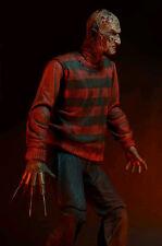 "Neca Freddy Krueger A nightmare on Elm Street 30th Anniversary 7"" action figure"