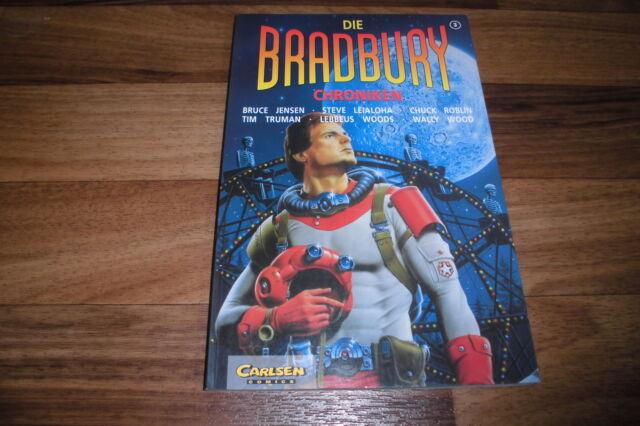 die BRADBURY (MARS) CHRONIKEN  # 3 -- CARLSEN // 1.Auflage 1995