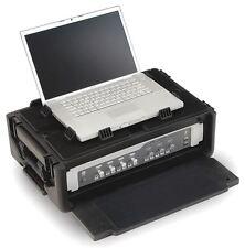 SKB 1SKB19-RSF2U Studio Flyer Laptop/2U Rack With Two Step Handle And Wheels