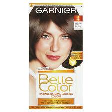 GARNIER BELLE COLOR 4 NATURAL DARK BROWN HAIR COLOUR