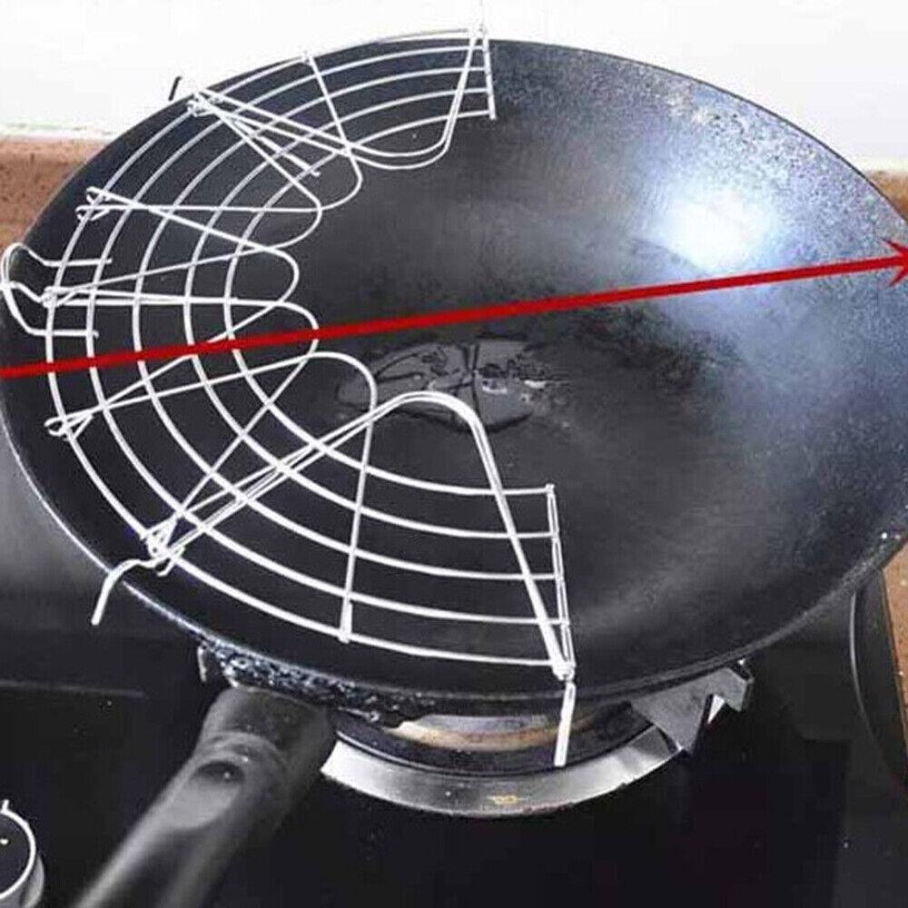 Stainless Steel Oil Drain Rack Cooking Oil Drip Shelf Pans Tempura Cooling Rack