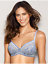 Details about  /WACOAL 851340 NET EFFECT UW Bra SHEER BEAUTY Lilac Grey BLUE 36D    NWT $58