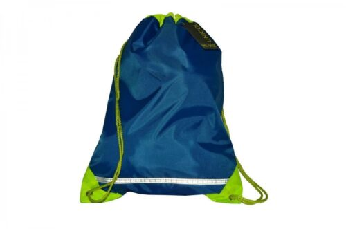 HI VIS 6 Colours School Kids Boys Girls Children P.E Bag Rucksack With Name Card