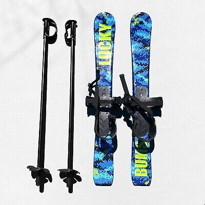 Lucky Bums Kids Beginner Snow Skis