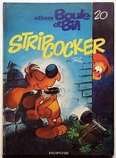 BD - Roba : Album n°20 des gags de Boule et Bill - StripCocker - 1984