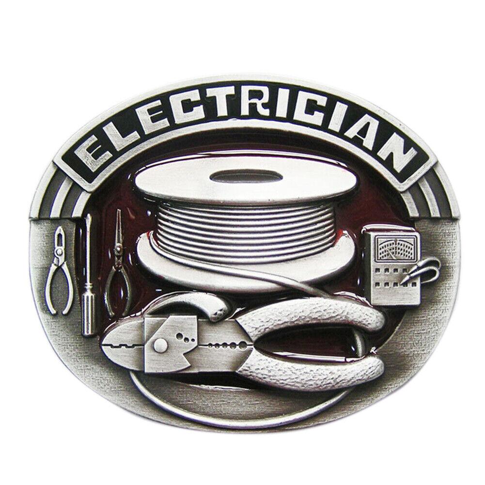 Electrician III Gürtelschnalle Craftman Handwerker Handwerk Artisans Elektriker