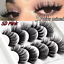 3D-Natural-False-Eyelashes-Long-Thick-Mixed-Fake-Eye-Lashes-Makeup-Mink-10-Pairs thumbnail 5