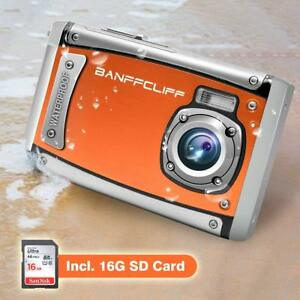 "21MP 1080P Digital Camera 3-Meter Waterproof 2.4"" LCD Action Camera Camcorder"