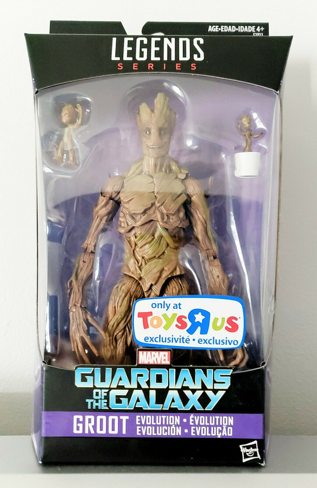 Groot (Evolution) - Marvel Legends TRU Exclusive GOTG Action Figure by Hasbro
