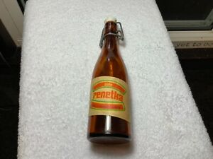 Vintage-Renetka-Polish-Poland-Beer-or-Soft-Drink-Bottle-with-Porcelain-Closure