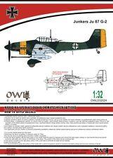 Owl 1/32 Junkers Ju-87G-2 'Stuka' Nachtschlacht # D32024