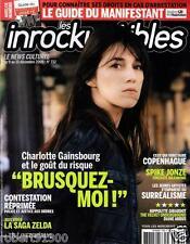 LES INROCKUPTIBLES 732./...CHARLOTTE GAINSBOURG ET LE GOUT DU RISQUE.../.12-2009