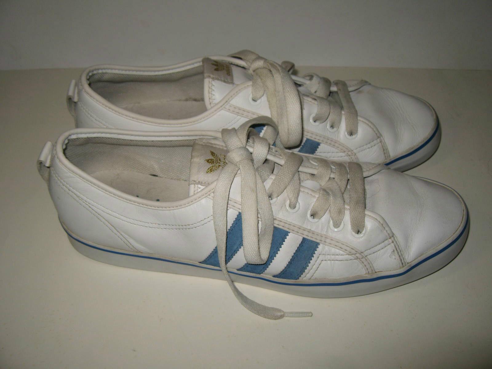 Adidas' niedrigen cl originale weiß - blau - basketball mens. - trainer schuhe größe mens. basketball dce21f