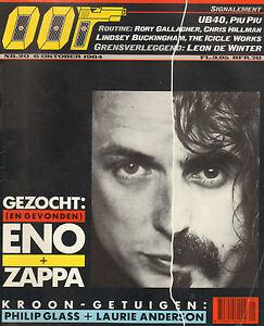 MAGAZINE-OOR-1984-nr-20-FRANK-ZAPPA-BRIAN-ENO-RORY-GALLAGHER-PIU-PIU-UB40