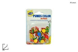 Puntine Colorate Assortite 10 Scatole