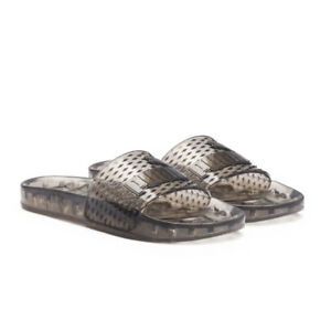 3249ce2f95fc6e New Fenty PUMA By Rihanna Jelly Slides Sandals Clear Black Women s ...
