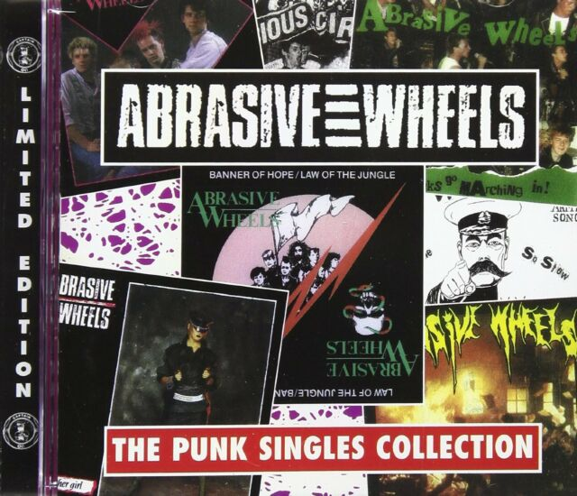 Abrasive Wheels Punk Singles Collection CD NEW SEALED Army Song/Vicious Circle+