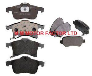 VAUXHALL ZAFIRA MK2 1.8 16V SRi 1.9 CDTI 120 150 REAR BRAKE PADS SET OF 4