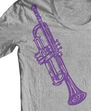 TRUMPET MUSIC INSTRUMENT T shirt Jazz Miles Davis Coltrane Graphic Tee Original