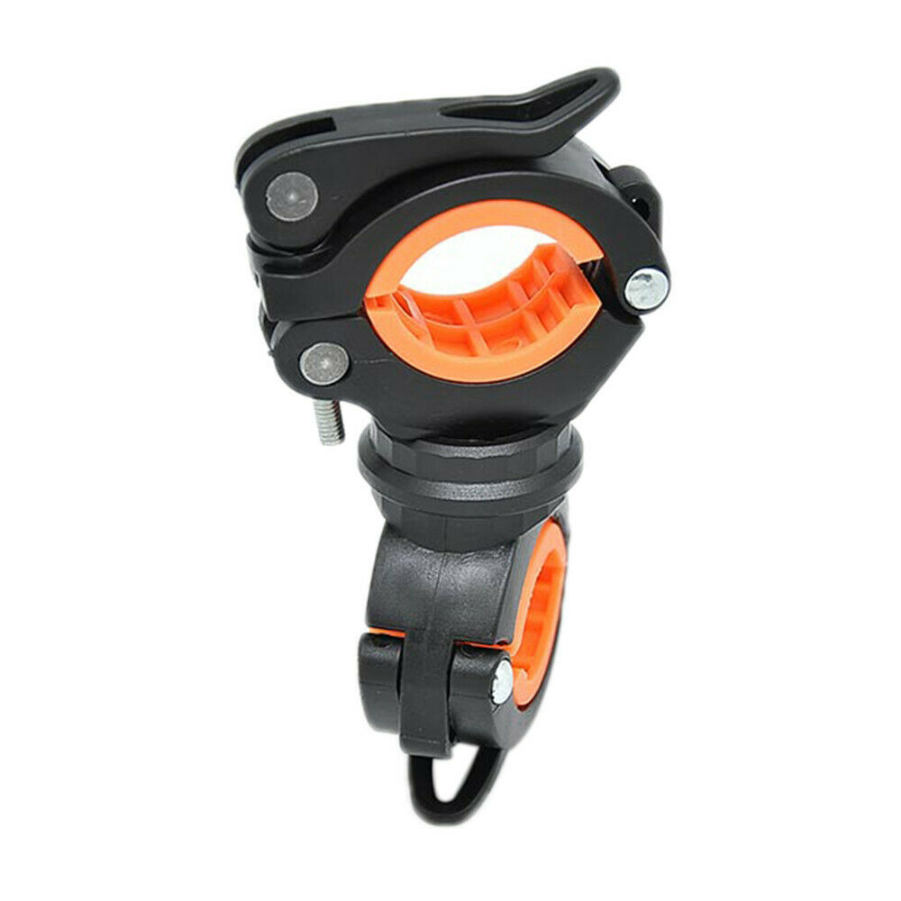Cycling Bicycle Bike Mount Holder for LED Flashlight Phone Torch Clip ClamRKECC
