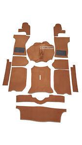 TRIUMPH-Spitfire-MK1-2-3-4-1500-Set-Tappeti-Antonio-in-marrone-chiaro-OE-Quality
