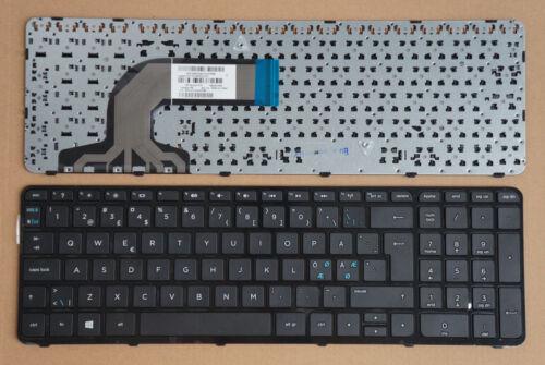 For HP Pavilion 15-n010eo 15-n018so 15-n019eo 15-n020so Keyboard Nordic Frame BK