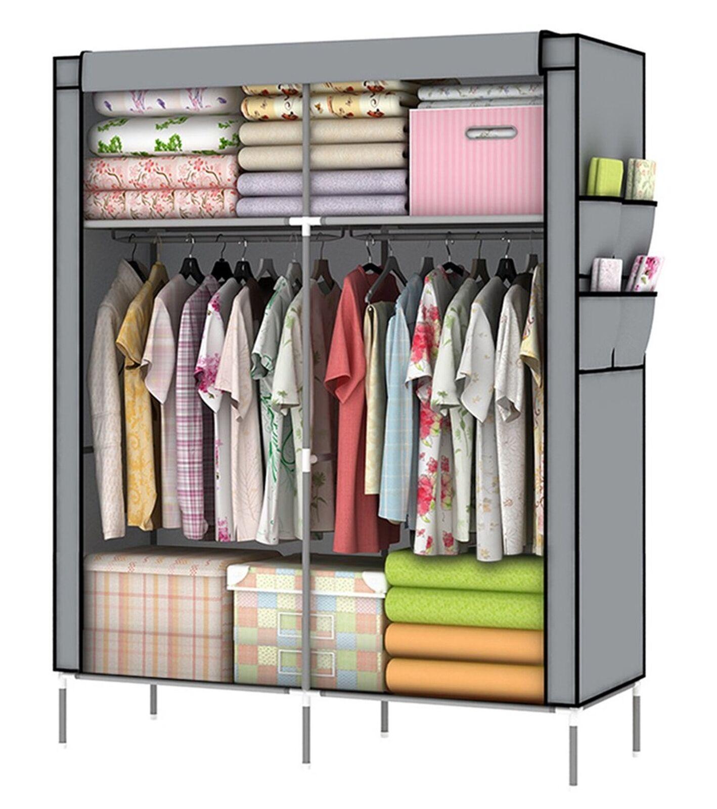 YOUUD Closet Portable Closet Organizer Portable Wardrobe Closet Clothes Close...