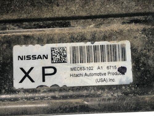 2004-2006 Nissan Sentra 1.8L Engine Computer Module ECM ECU MEC63-102 A1 6715