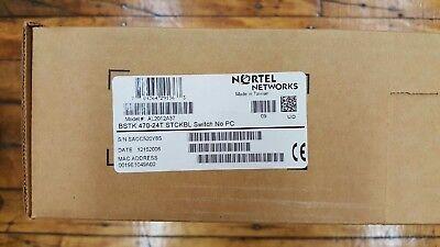 AL2012E15 NORTEL NETWORKS BAYSTACK450-12T SW BRAND NEW!