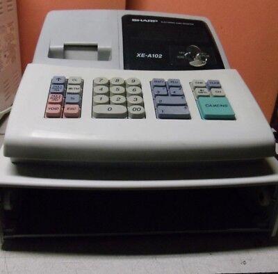 SHARP XE-A102 Cash Register KEY