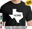 Texas Home Pride Lone Star State Flag Longhorn Mens Patriotic  T-Shirt