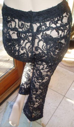 Lace W Sequins S Sort Cache Smukke Salg Kjole Bukser S Gift 0wq7nfWE