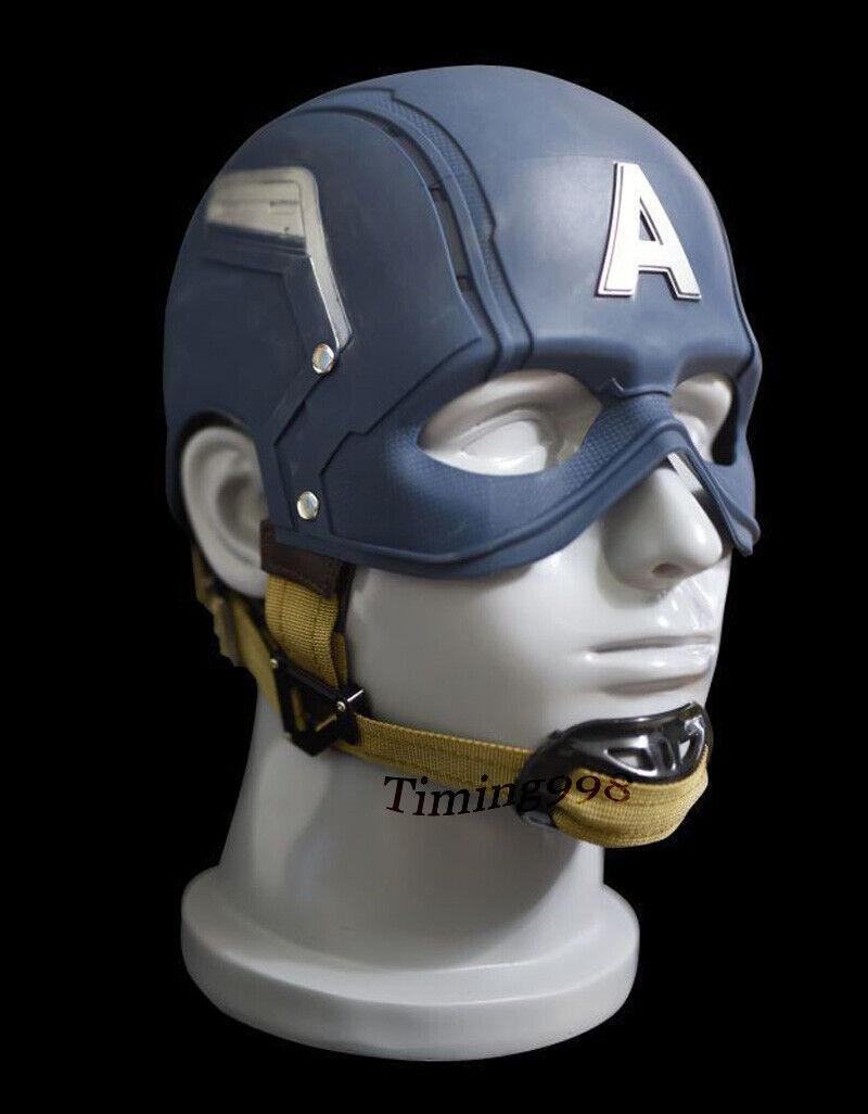 1 1 Capitán América usable cos CoJugar Accesorios Coleccionables helmat Modelo